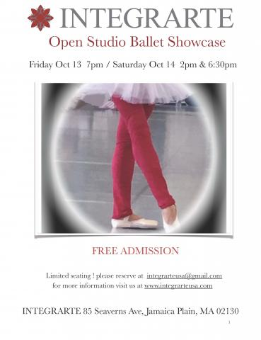 Open Studio Ballet Showcase